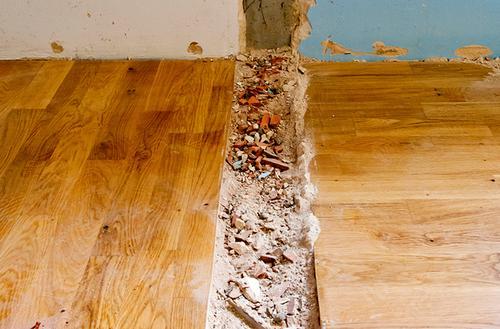 Naprawa podłogi